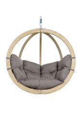 Chaise Suspendue Globo | Taupe