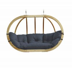 Hanging Chair Globo Royal | Dark Grey