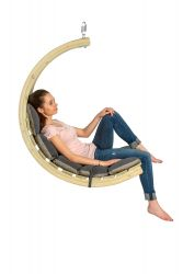Swing Chair | Grey & Taupe