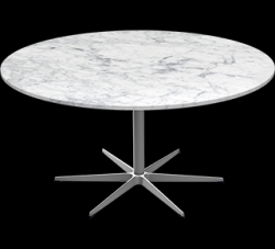 Table Series Pedestal Base | Marble