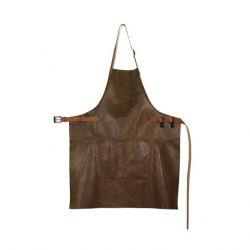 Schürze BBQ Style Vintage | Braun