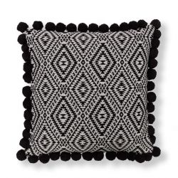 Cushion Cover with Pompons
