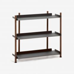 Small Shelving Unit Magal | Black