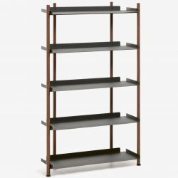 Large Shelving Unit Magal | Black