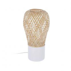 Tischlampe Derora | Weiß