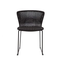 Outdoor-Stuhlflügel 2er-Set | Schwarz