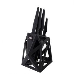 Bloc à Couteaux Black Diamond + 4 Couteaux