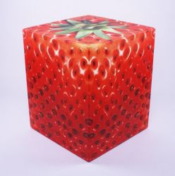 Sit On Everything Cube | Strawberry