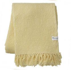Handtuch Waffly 70 x 120 cm | Zitrone
