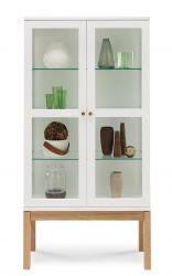 Abbey Wood Display Cabinet