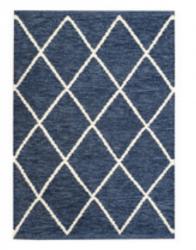 Rug Abdias 160 x 230 cm | Blue