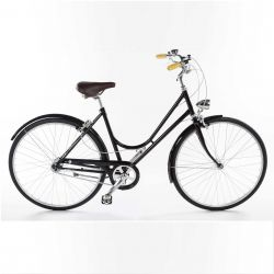 Bike Bacio 3 Speed Donna | Shiny Black