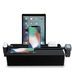 Qi-Wireless Ladestation + Zubehörsatz Apple Classic Family | Schwarz