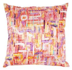 Designer Pillow Abstract Neon