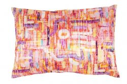 Rectangular Designer Pillow Abstract Neon