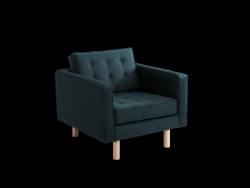 Fauteuil Topic Wood | Deep Sea