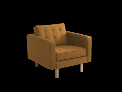 Armchair Topic Wood | Honey