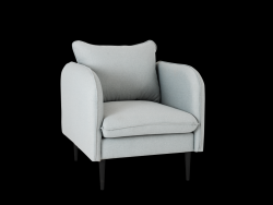 Armchair Posh | Steal Grey