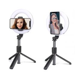 Luminous Selfie With Remote Control AC 163 | Black
