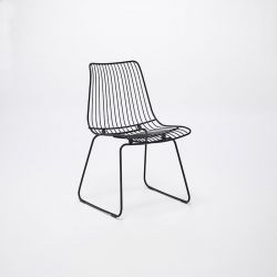 Acco Dining Chair | Black
