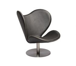 Butterfly Lounge Chair | Black Leather