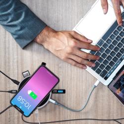 MoovyGo 12-in-1 Wireless Hub Station USB-C & Power Bank