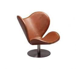Butterfly Lounge Chair | Brown Leather