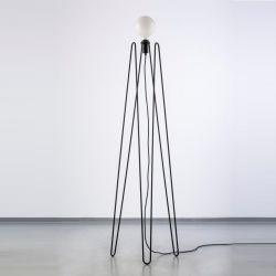 Model 2 Lamp   Black