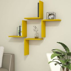 Shelf Alfa Set of 4 | Yellow
