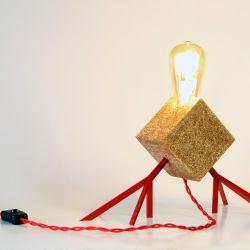Tischlampe AGAPHANTO E.T. | Rot