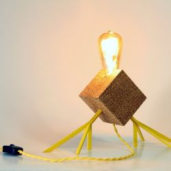 Table Lamp AGAPHANTO E.T. | Yellow