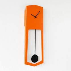 Wall Clock Aika | Orange