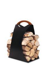 Log Carrier Hali Large | Schwarz