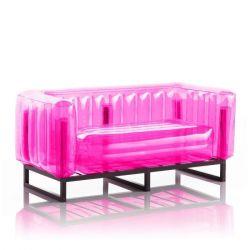 Canape Yomi Aluminium | Rosa