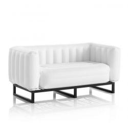 Canape Yomi Aluminium | Weiß