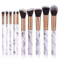 Set of 10 Make-up  Brushes | White