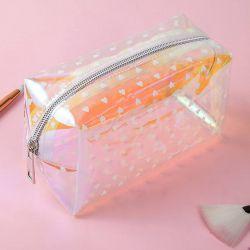 Make-up Bag | Transparent-White