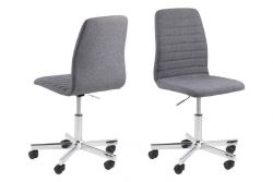 Set of 2 Desk Chairs Danta | Grey