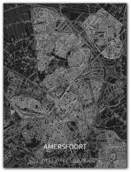 Metal Wall Decoration | City Map | Amersfoort
