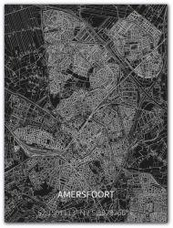 Metalen Wanddecoratie | Stadsplattegrond | Amersfoort