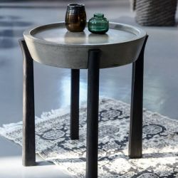 Concrete Table | Black