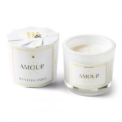 Wrapped Scented Candle | Amour