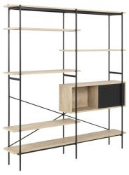Wall Unit Angie | White Oak