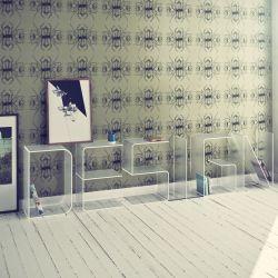 Anita Bookshelf Letter Floor