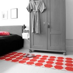 Anna Rug- Red | Rectangular