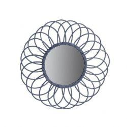 Miroir Antigua | Rotin Gris