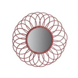 Mirror Antigua | Rattan Red