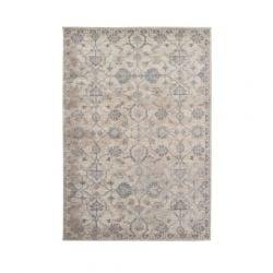 Antiqua Teppich | Creme Blau