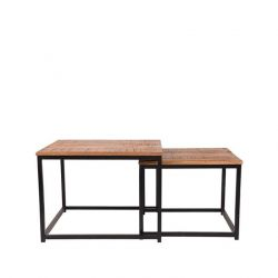 Coffee Table Set Couple | Black