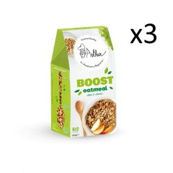 Oatmeal 350 g Set of 3 | Apple Matcha